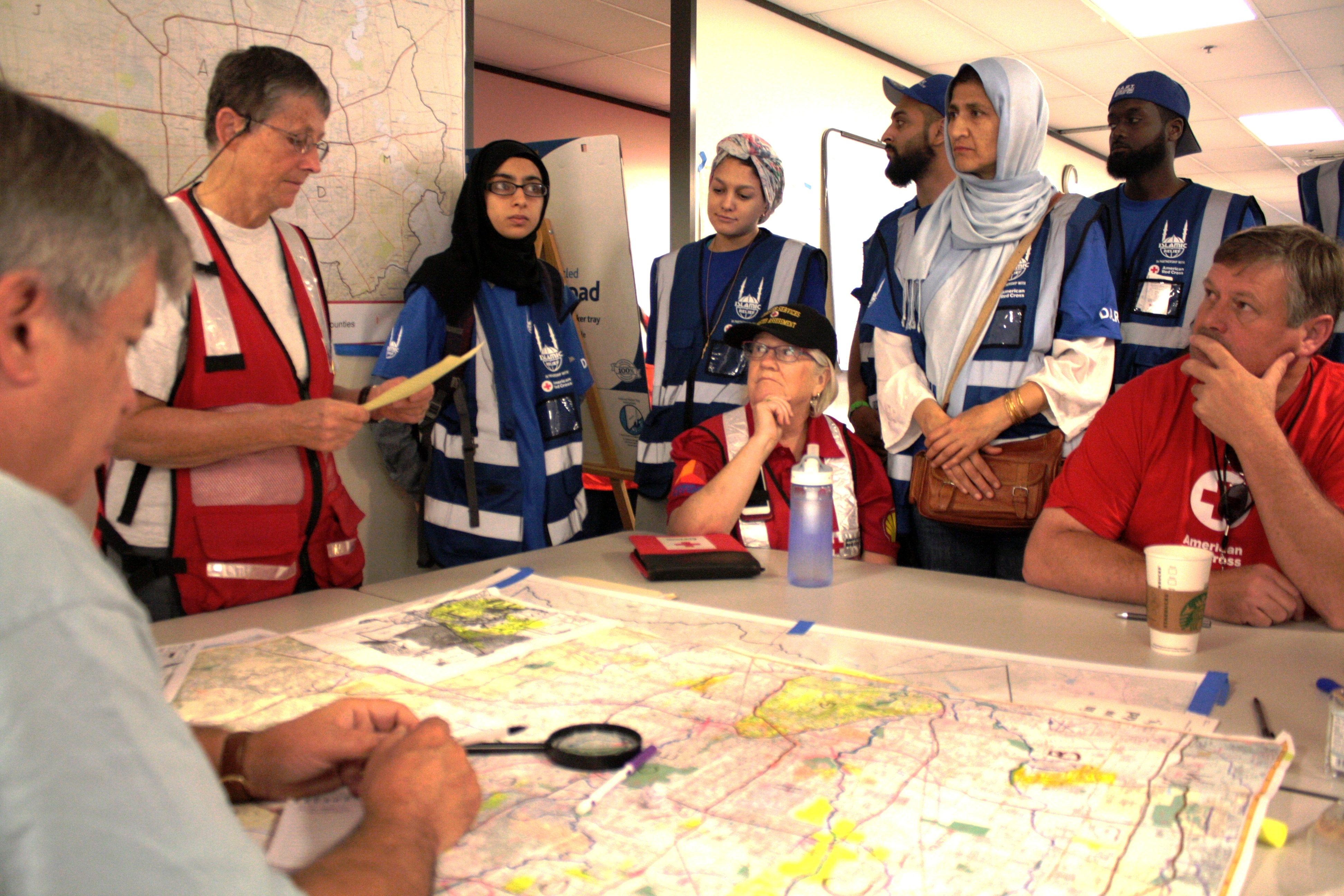 Islamic Relief Group Helps Red Cross – Texas Gulf Coast