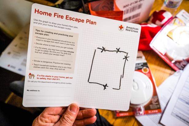 Home Fire Preparedness Campaign